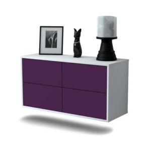 Tissington TV Stand Ebern Designs Colour: Purple
