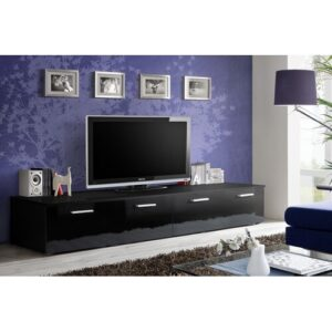 "Toka TV Stand for TVs up to 65"" Metro Lane Colour: Black"