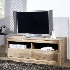 "Toronto TV Stand for TVs up to 60"" Massivmoebel24 Colour: Smoked Cherry"