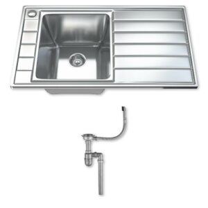 Ultra Modern 97cm x 50cm Kitchen Sink Dihl
