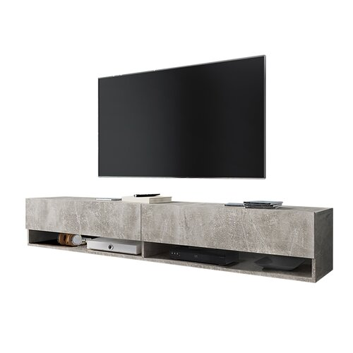 "Wander TV Stand for TVs up to 78"" Selsey Living Colour: Concrete"
