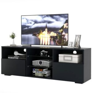 "Watervale TV Stand for TVs up to 65"" Metro Lane Colour: Black"