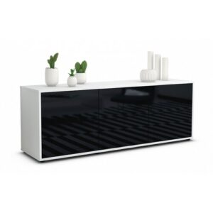 "Wunderlich TV Stand for TVs up to 39"" Brayden Studio Colour: High-gloss Black / Matte White"