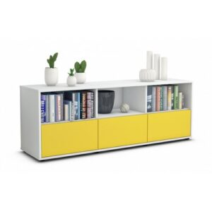"Wunsch TV Stand for TVs up to 39"" Brayden Studio Colour: Yellow / Matte White"