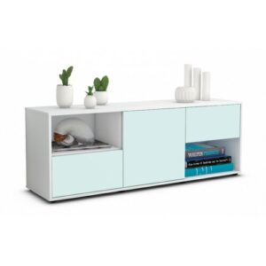 """Wurth TV Stand for TVs up to 39"""" Brayden Studio Colour: Light Blue / Matte White"""