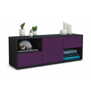 "Wurth TV Stand for TVs up to 39"" Brayden Studio Colour: Purple / Matte Anthracite"