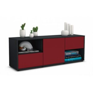 """Wurth TV Stand for TVs up to 39"""" Brayden Studio Colour: Red / Matte Anthracite"""