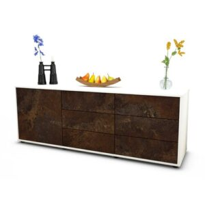 """Wyant TV Stand for TVs up to 39"""" Brayden Studio Colour: Rust / Matte White"""