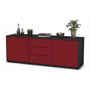 """Wyble TV Stand for TVs up to 39"""" Brayden Studio Colour: Red / Matte Anthracite"""