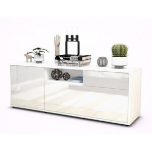 "Wyckoff TV Stand for TVs up to 39"" Brayden Studio Colour: High-gloss White / Matte White"