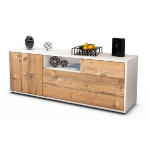 """Wyckoff TV Stand for TVs up to 39"""" Brayden Studio Colour: Pine / Matte White"""