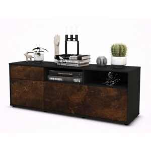 """Wycoff TV Stand for TVs up to 39"""" Brayden Studio Colour: Rust / Matte Anthracite"""