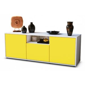 "Wygant TV Stand for TVs up to 39"" Brayden Studio Colour: Yellow / Matte White"