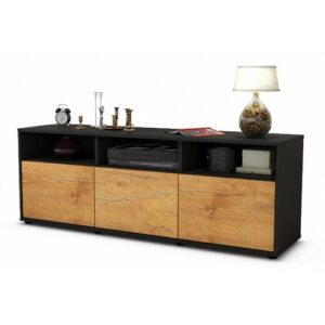 """Wylie TV Stand for TVs up to 39"""" Brayden Studio Colour: Oak / Matte Anthracite"""