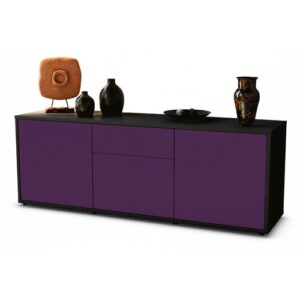 "Wymore TV Stand for TVs up to 39"" Brayden Studio Colour: Purple / Matte Anthracite"