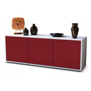 """Wymore TV Stand for TVs up to 39"""" Brayden Studio Colour: Red / Matte White"""
