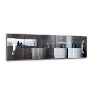 Wynette Bathroom Mirror Metro Lane Size: 40cm H x 120cm W