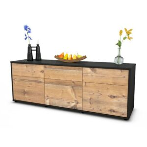 "Wynkoop TV Stand for TVs up to 39"" Brayden Studio Colour: Pine / Matte Anthracite"