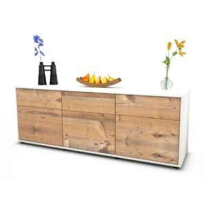 "Wynkoop TV Stand for TVs up to 39"" Brayden Studio Colour: Pine / Matte White"