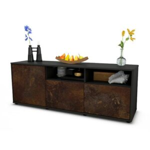 """Wysocki TV Stand for TVs up to 39"""" Brayden Studio Colour: Rust / Matte Anthracite"""