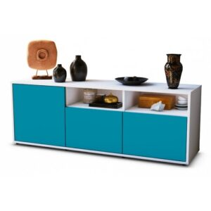 """Wysocki TV Stand for TVs up to 39"""" Brayden Studio Colour: Turquoise / Matte White"""