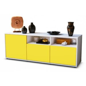 "Wysocki TV Stand for TVs up to 39"" Brayden Studio Colour: Yellow / Matte White"