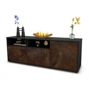 "Wyss TV Stand for TVs up to 39"" Brayden Studio Colour: Rust / Matte Anthracite"