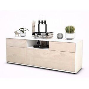 "Yager TV Stand for TVs up to 39"" Brayden Studio Colour: Cedar / Matte White"