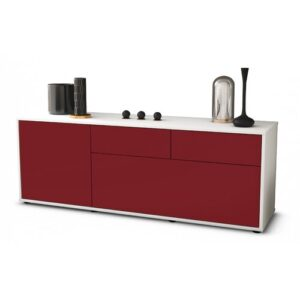 """Yamaguchi TV Stand for TVs up to 60"""" Brayden Studio Colour: Red / Matte White"""