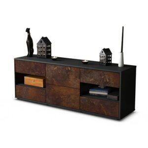 """Ybanez TV Stand for TVs up to 39"""" Brayden Studio Colour: Rust / Matte Anthracite"""