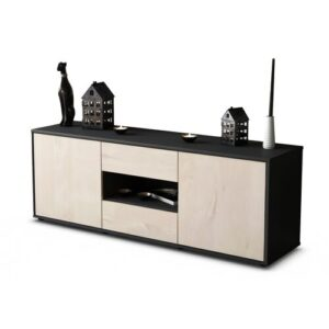 """Yearwood TV Stand for TVs up to 39"""" Brayden Studio Colour: Cedar / Matte Anthracite"""