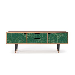 "Zayac TV Stand for TVs up to 70"" Ebern Designs Pattern: Emerald Forest"