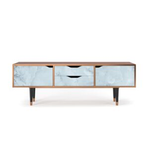 """Zayac TV Stand for TVs up to 70"""" Ebern Designs Pattern: Glacial Colour"""