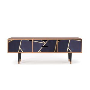 """Zayac TV Stand for TVs up to 70"""" Ebern Designs Pattern: The Amethyst"""
