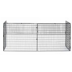 2 Panel Metal Fireplace Screen Symple Stuff