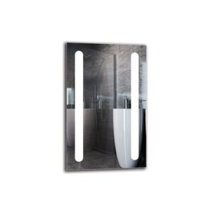Asgun Bathroom Mirror Metro Lane Size: 80cm H x 50cm W