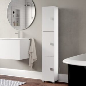 Ataie 30 x 168cm Free-Standing Tall Bathroom Cabinet Ebern Designs