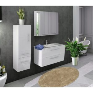 Avent 3 Pieces Bathroom Furniture Suite Ivy Bronx