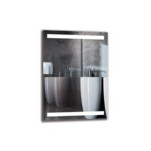 Bengte Bathroom Mirror Metro Lane Size: 70cm H x 50cm W
