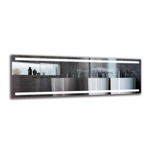 Bente Bathroom Mirror Metro Lane Size: 50cm H x 150cm W