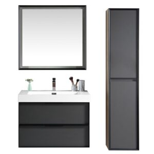 Bludovice 800mm Vanity and Mirror Set Belfry Bathroom