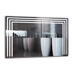 Boeld Bathroom Mirror Metro Lane Size: 40cm H x 60cm W