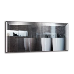 Boeld Bathroom Mirror Metro Lane Size: 60cm H x 120cm W
