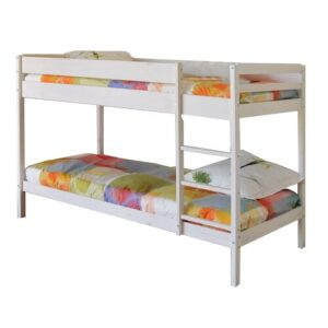 Carmona 90 x 190cm Bunk Bed Isabelle & Max Bed Frame Colour: White