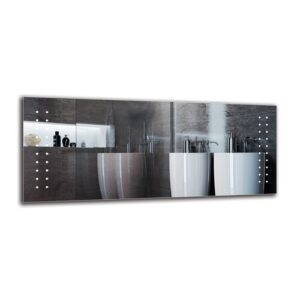 Catharina Bathroom Mirror Metro Lane Size: 50cm H x 120cm W