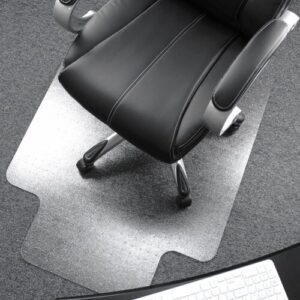 Cleartex Ultimat Chair Mat for Low To Medium Pile Carpets Floortex Size: 119cm x 89cm