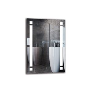 Colden Bathroom Mirror Metro Lane Size: 100cm H x 70cm W