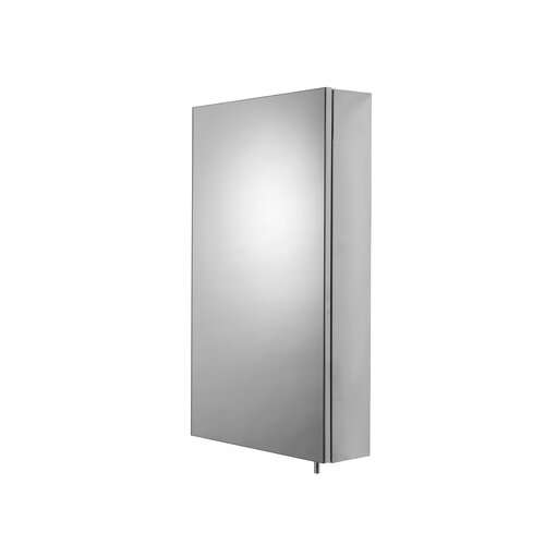 Colorado 38cm x 67cm Surface Mount Mirror Cabinet Croydex