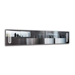 Daghmar Bathroom Mirror Metro Lane Size: 40cm H x 160cm W