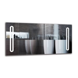Daghmar Bathroom Mirror Metro Lane Size: 50cm H x 100cm W